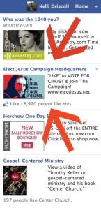 Vote for Jesus Ad