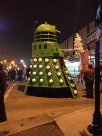 Dalek Getting Tune-Up